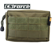 Airsoft Tactical Outdoor Sports 600D Nylon Molle Bag Military Paintball Utility EDC Vest Accessory Drop Pouch Magazine Pouch $