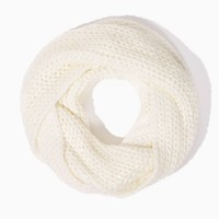 Metallic Knit Infinity Scarf | Fashion Accessories - Scarves | charming charlie