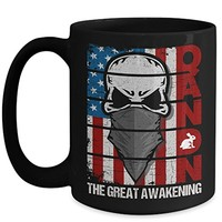 Q Anon 15 oz Coffee Cup The Great Awakening
