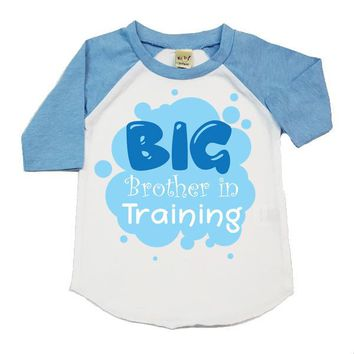 Big Brother In Training Kids Raglan Shirt