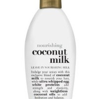 OGX Leave-In Nourishing Milk, Nourishing Coconut Milk, 6oz