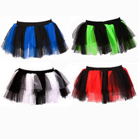 Poizen Stripe Razer Mini Tutu :: VampireFreaks Store :: Gothic Clothing, Cyber-goth, punk, metal, alternative, rave, freak fashions