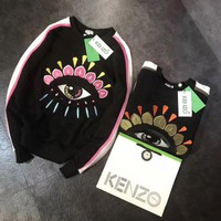 KENZO Women Fashion Casual Long Sleeve Sport Top Sweater Pullover Sweatshirt