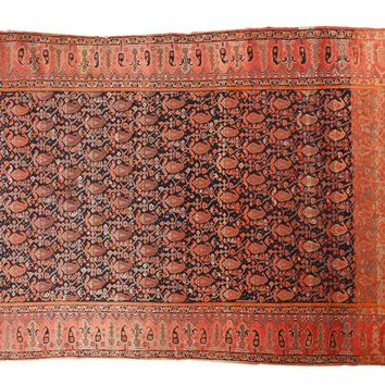 4.5x6.5 Antique Mission Malayer Rug