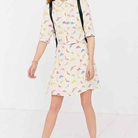 The White Pepper Dino Skirt- Novelty