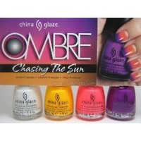 China Glaze Nail Lacquer OMBRE NEON SUNSET COLLECTION