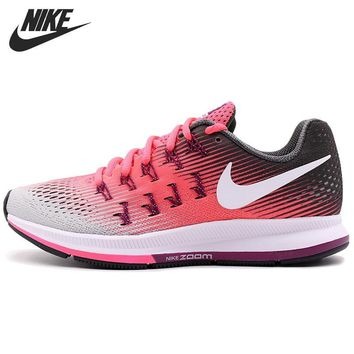 LMFON Original New Arrival 2017 NIKE AIR ZOOM PEGASUS 33 Women's  Running Shoes Sneakers