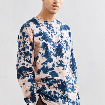 UO Dye Effect Long Sleeve Tee | Urban Outfitters