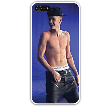 Justin Bieber iPhone 5 case by OhSoCr8tive on Etsy