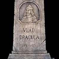 Halloweentown Store: Vlad Dracula Tombstone<p>IN-STORE PURCHASE ONLY