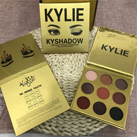 New Arrival KYLIE Gold Golden 9 colors Eye Shadow [8746098956]