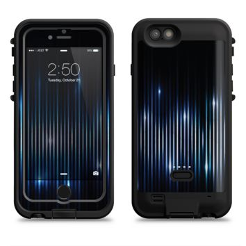The Glowing Blue WaveLengths  iPhone 6/6s Plus LifeProof Fre POWER Case Skin Kit