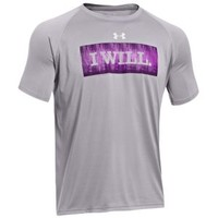 Under Armour Tech I Will T-Shirt - Men's at Champs Sports