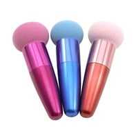 1pcs Cream Foundation Liquid Sponge Brush