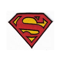 Superman Embroidered Iron-On Patch