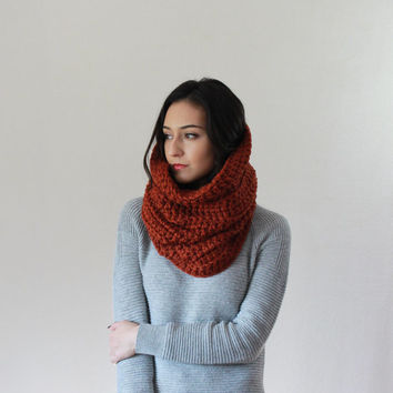 The Chartres, large chunky cowl - SPICE