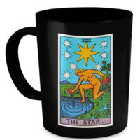 The Star Tarot Card Coffee Cup Mug starmug