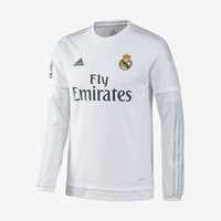 Real Madrid Home Jersey Long-Sleeve