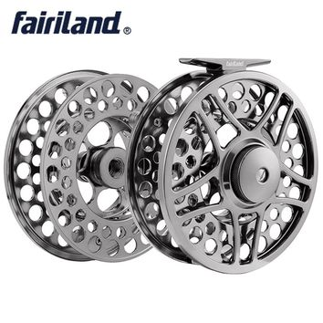 "9/11 110mm//4.33"" 2BB+1RB PRECISION MACHINED fly reel + spare spool from BAR-STOCK ALUMINUM fly fishing reel with INCOMING CLICK"
