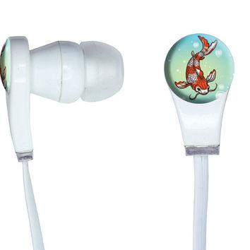 Koi Fish - Japanese Chinese Asian In-Ear Headphones
