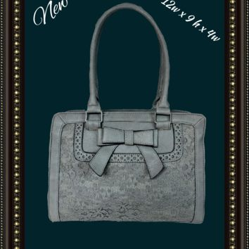 Chateau handbag with lace front - so cute!