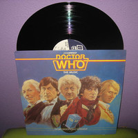 EARLY SPRING SALE Vinyl Record Album Doctor Who - The Music Bbc Lp 1983 Sci Fi Action Classic Import