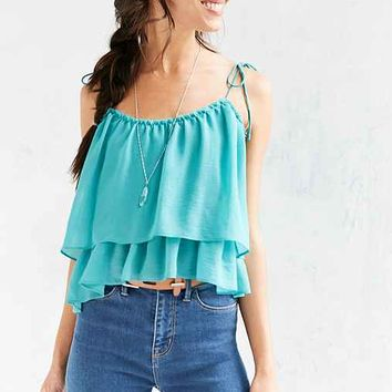 Ecote Lucy Tiered Tie-Strap Cami