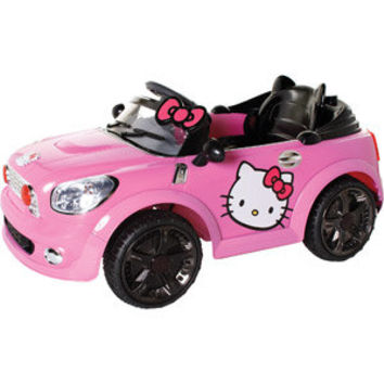 Walmart Hello Kitty Coupe 6 Volt From Walmart The Follow
