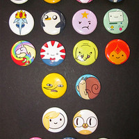 """Pick your own 1"""" Adventure Time buttons"""