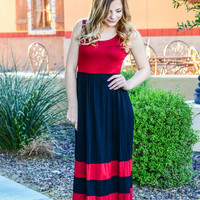 CATCH OF THE DAY MAXI DRESS