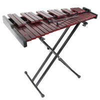 Gearlux 37-Key Wooden Xylophone with Mallets and Stand