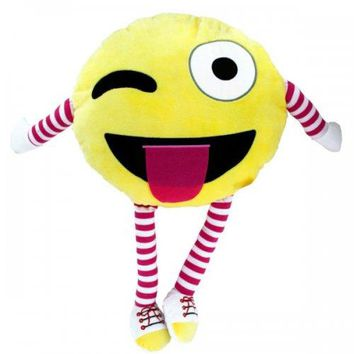 Emoticon Plush Character Pillow