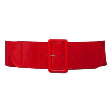 eVogues Women's Wide Patent Leather Fashion Belt