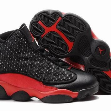 Nike Kids Air Jordan 13 Retro Black/red Sneaker Shoe Us 11c 3y | Best Deal Online