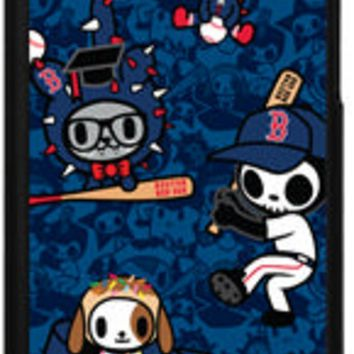 Major League Baseball-Coveroo MLB Boston Red Sox Tokidoki Pattern Design iPhone 5 5s Thinshield Snap-On Case