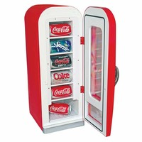Coca-Cola Vending Fridge @ Sharper Image