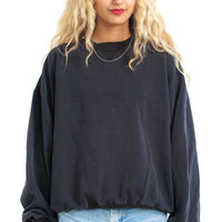 Vintage 90's Classics Forever Black Sweatshirt - One Size Fits Many