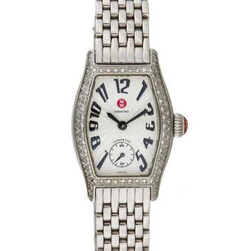Michele Coquette Pavé Diamond Watch