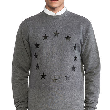 Etudes Studio Etoile Europe Crew Sweatshirt in Gray