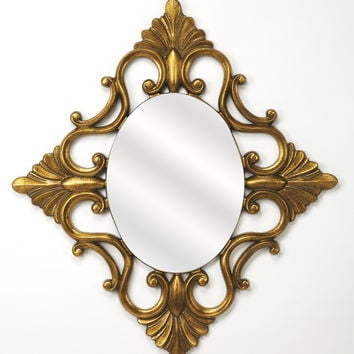 Butler Calais Gold Wall Mirror 4305226