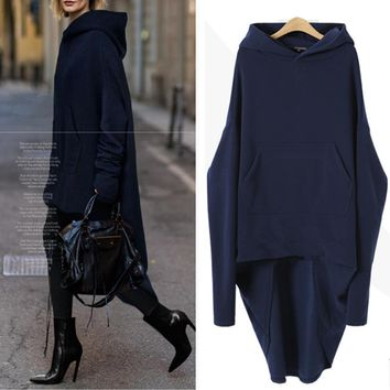 Hoodies Tops Hats Winter Thicken One Piece Dress [196916674586]
