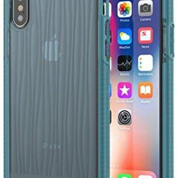 Tech21 Evo Wave Case for Apple iPhone X - Teal