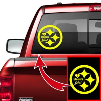 Steelers Girl Car/Truck Decal
