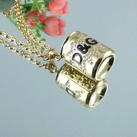8DESS Dolce & Gabbana Woman Fashion Accessories Fine Jewelry Chain Necklace