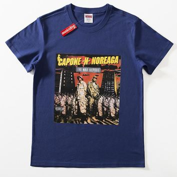 Cheap Women's and men's supreme t shirt for sale 85902898_0046