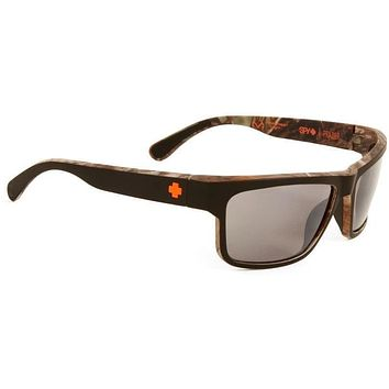 Spy Frazier Decoy Sunglasses Black Mirror Polarized Lens
