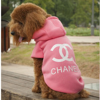 Fashion Dog Clothes Chanel Inspired Outfit