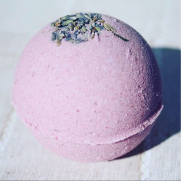 Lavender Bath Bomb with Buds