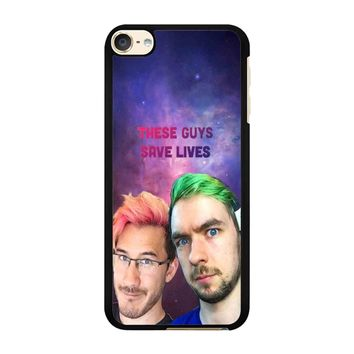 Jacksepticeye And Pewdiepie Markiplier 001  iPod Touch 6 Case
