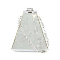 """Chanel """"Fractured Glass"""" Pyramid Box Bag"""